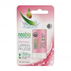 Shimmer buze cu ulei de masline si aloe vera - Neobio