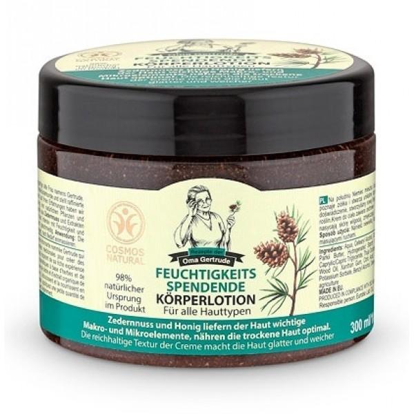 Crema de corp hidratanta cu extract de miere si cedru, 300 ml - Oma Gertrude