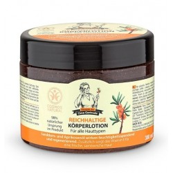 Crema de corp nutritiva cu ulei de catina si piersica, 300 ml - Oma Gertrude