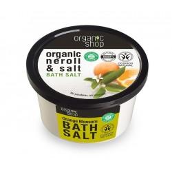 Sare de baie cu portocala Orange Blossom - Organic Shop