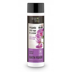 Spumant de baie cu salvie si orhidee Purple Orchid - Organic Shop