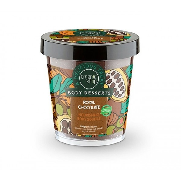 Sufleu delicios nutritiv pentru corp Royal Chocolate Body Desserts - Organic Shop
