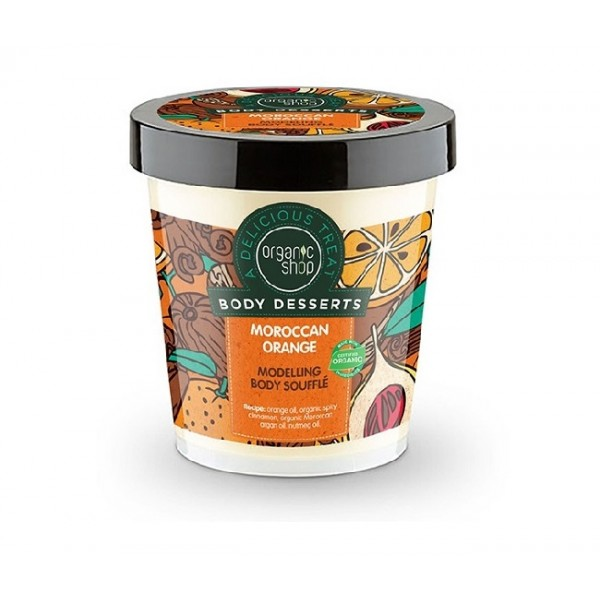 Sufleu delicios pentru corp Moroccan Orange  Body Desserts - Organic Shop