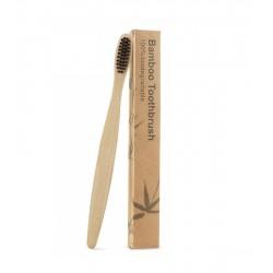 Periuta de dinti, maner din bambus  100% Biodegradabil