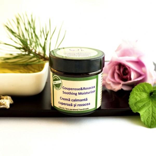 Crema anti-cuperoza si rozacee - QI Cosmetics