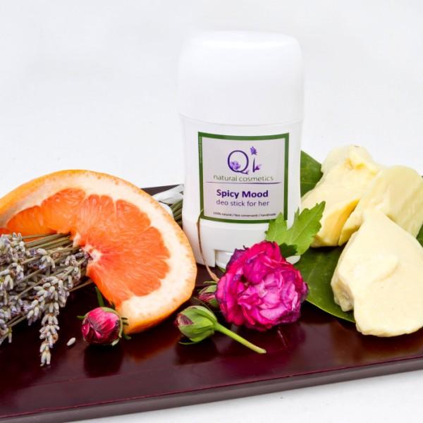 Deodorant stick unisex - QI Cosmetics