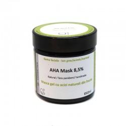Masca gel cu acizi naturali din fructe - QI Cosmetics