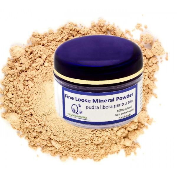 Pudra translucida - QI Cosmetics