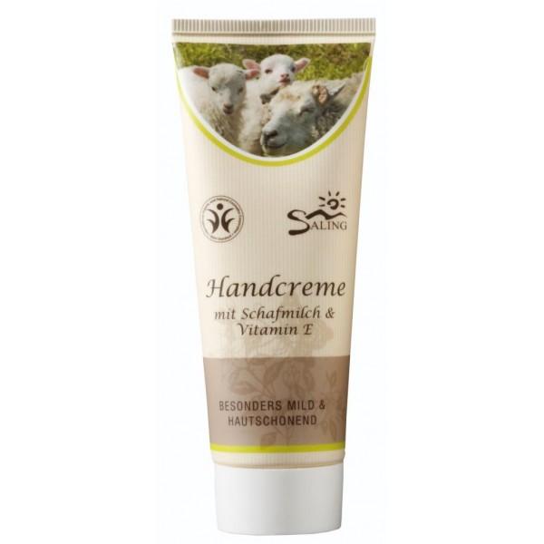 Crema de maini - cu lapte de oaie si vitamina E - Saling Naturprodukte