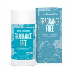 Deodorant stick Sensitive Skin cu magneziu, fara parfum - Schmidts's