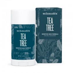Deodorant stick Sensitive Skin cu magneziu si arbore de ceai - Schmidts's