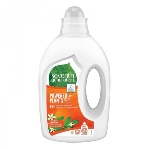 Detergent ecologic lichid pentru rufe Seventh Generation Fresh Orange & Blossom Scent, 1L