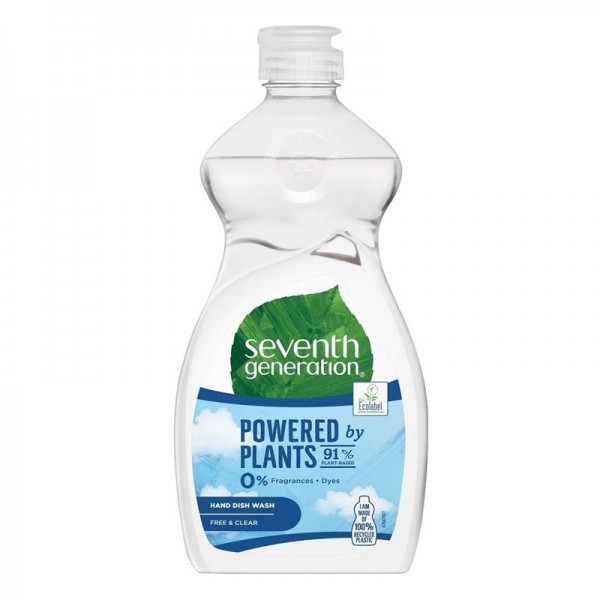 Detergent ecologic pentru vase, utilizare manuala Seventh Generation Fresh Citrus & Ginger, 500ml