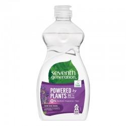 Detergent ecologic pentru vase, utilizare manuală Seventh Generation Lavender Flower & Mint, 500ml
