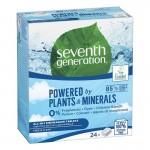 Tablete ecologice universale pentru masina de spalat vase, Seventh Generation Free&Clear