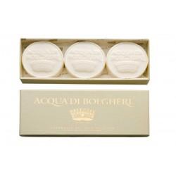 Set 3 sapunuri parfumate GOLD - Acqua di Bolgheri - Dr. Taffi