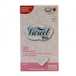 Protej slip ultra subtire din bumbac organic, 30 buc - Vivicot