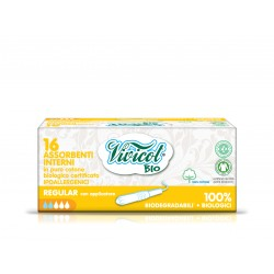 Tampoane Normal din bumbac organic - Vivicot
