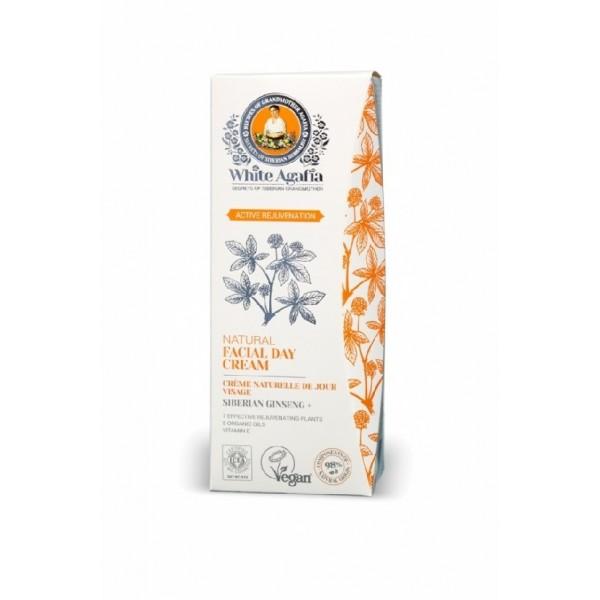Crema de zi antiage cu ginseng siberian Active Rejuvenation - White Agafia